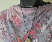 Golden Pyrite Nursing Necklace