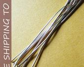 400pcs Silver Flat Headpins,  3 Inch long, 21G thick,''''FREE SHIPPING to USA''''