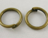 2000pcs Antique Bronze JumpRings,Unsoldered, 8mm diameter,FREE SHIPPING to USA
