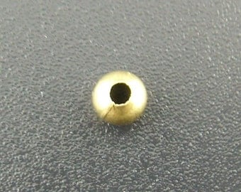500 pcs Antique Bronze Round Smooth Spacer Beads, 4mm in diameter, FREE SHIPPING within USA