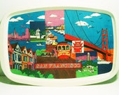 1970s San Francisco Collectible Tray