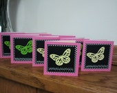 Butterfly 3 x 3 Cards - Set of 8