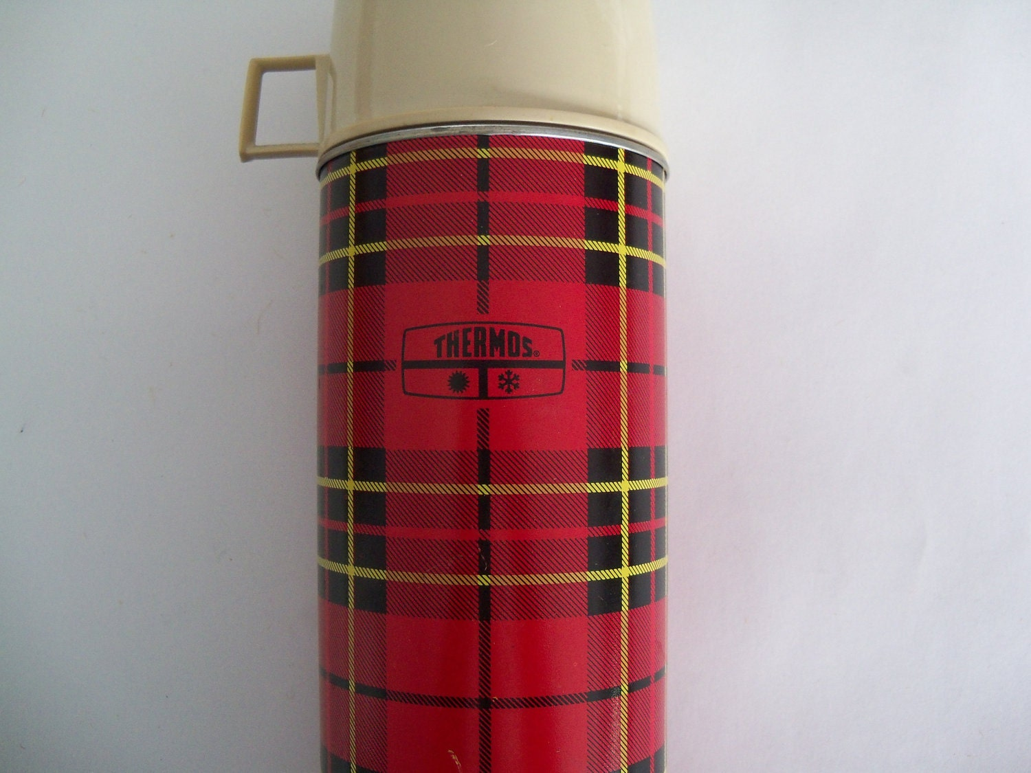 Thermos Brand Insulated Bottle Vintage Large Glass King Seely