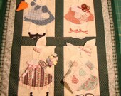 Applique Bunny Wall Hanging Quilt