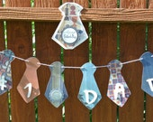 Clearance SALE Father's Day Banner and Matching Greeting Card