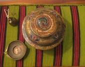 Tibetan Offering Bowl/Tsampa Bowl