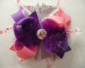 Tangled Inspired  Boutique Hairbow