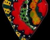 Ceramic Heart Small Ornament