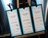 Save the Date, Wedding, Bookmark, Custom, Personalized