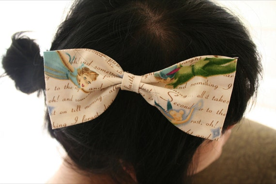 LIMITED Peter Pan Hair Bow