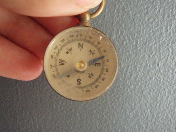 Vintage Mini Compass
