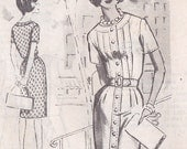 60s Vintage Sewing Pattern 1960s Mail Order Vintage Spadea Designer Pattern, Tom Brigance, N-1279, Mad Men