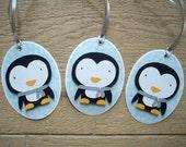 Christmas Gift Tags - Set of 3 Penguins