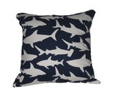 Handmade Shark Pillow / Cushion