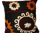 Hand Embroidered Suzani Pillow / Cushion