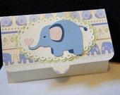 Baby Shower Gift Card Holder- Elephant
