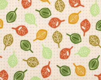 CLEARANCE - Timeless Treasures Fabric- Love a Tree Collection- Leaves- Multi -
