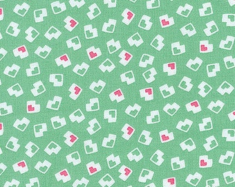 1/2 YARD Adventures With Alice- Chesire Confetti by Darlene Zimmerman for Robert Kaufman Fabrics-Retro Novelty Fabric