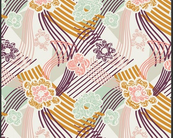 Art Gallery - Patricia Bravo-Summerlove Collection-Swept Away Serenity-Sunkissed -Choose Your Cut 1/2 or Full Yard