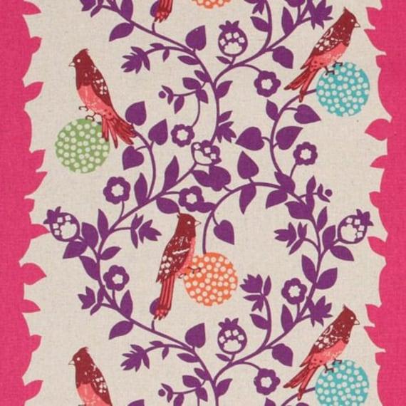 Echino Fabric - Perch - Pink