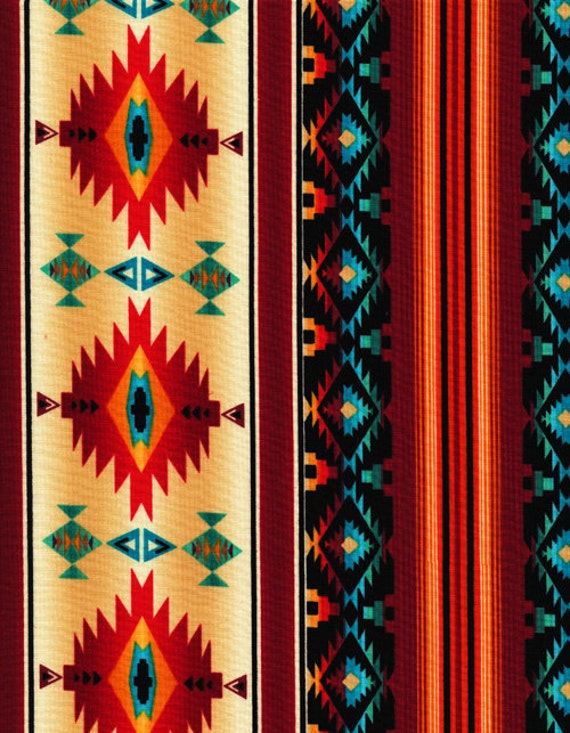 Timeless Treasures Fabric Southwest Sunset By