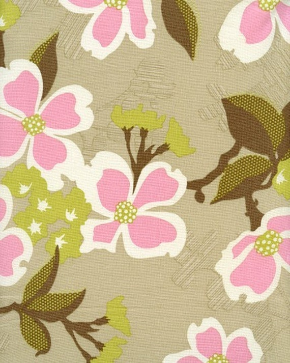 Joel Dewberry Fabric - Modern Meadow Collection - Dogwood Bloom- Pink