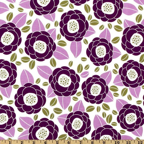 Joel Dewberry Fabric- Aviary II Collection - Bloom - Lilac