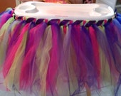 Birthday High Chair TUTU