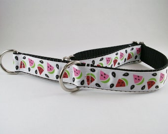 """Add an extra Tag Ring/ Dee Ring Loop to your 1.5"""" or 1"""" or 3/4"""" Wide Dog Collar"""