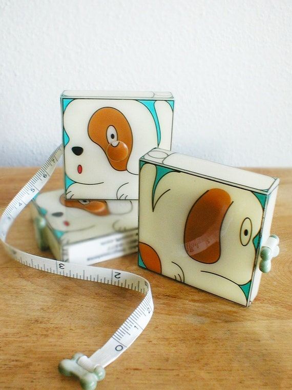 Tape Measure sewing notion puppy