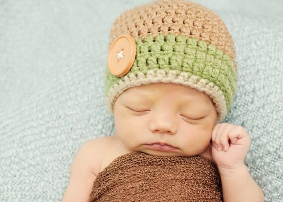 crochet baby hat, crochet kids hat, crochet beanie, boys hat, crochet boys hat, newborn boy hat