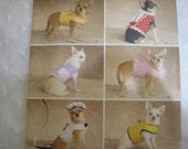 Simplicity 2393 Small Dog Clothes