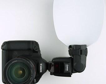 """GotLux 8"""" LuxNator Bounce Card Flash Diffuser Canon 430ex 550ex 580ex II LB"""