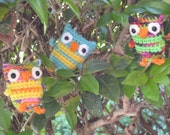 T.O. the Tiny Owl Crochet Pattern