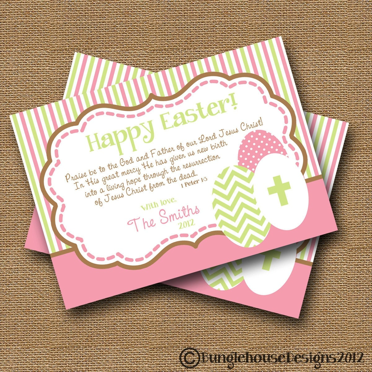 Religious Easter Card Printable Christian Easter Card DIY – Easter Verses for Cards