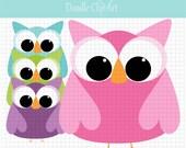 Owl Polka Dot