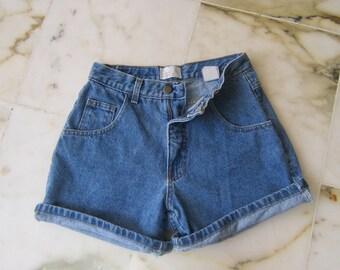 Moda Intl Blue Denim Shorts