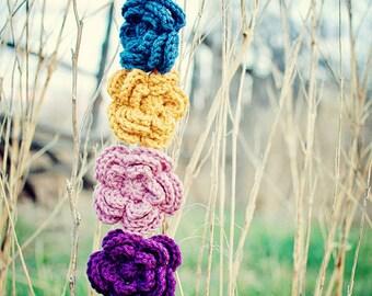 Chloe Crochet Flower Clip