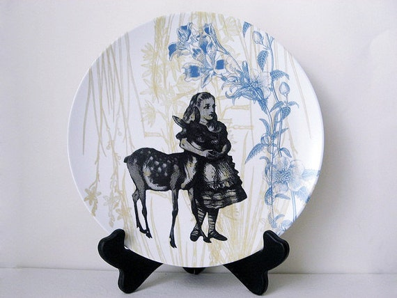 Alice in Wonderland - Melamine Dinnerware - Alice in Wonderland Party