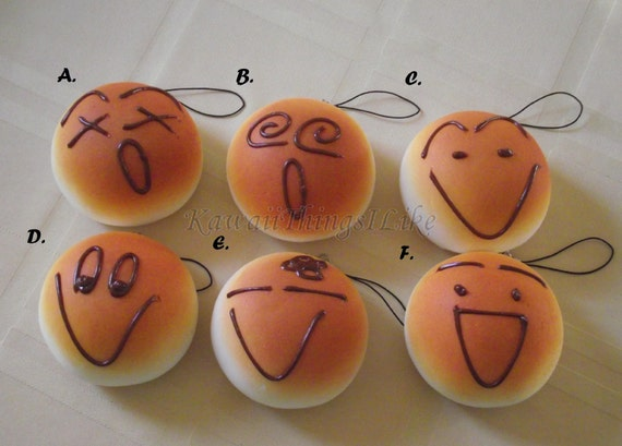 Squishy buns 12 designs for Squishy ideas