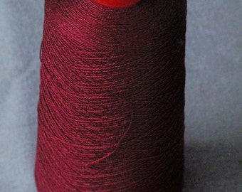 Half Cone Garnet 10/2 Mercerized Cotton