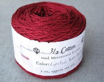 Lipstick 3/2 Mercerized Cotton