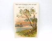 Victorian Trade Card / Early Coupon - Smith's Household Goods Amsterdam, New York