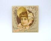 Victorian Trade Card - Allen's Root Beer Extract