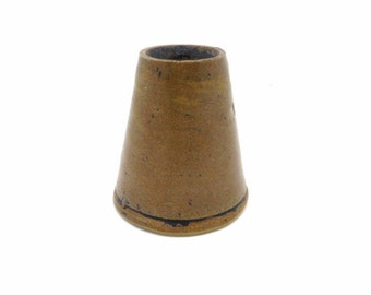 Antique Stoneware Inkwell