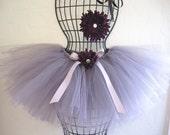 RESERVED FOR ASHLEY - Custom order tutu for flowergirl
