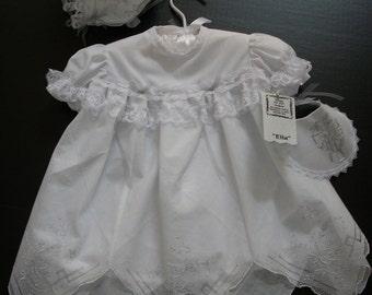 Handmade Girls' Christening/Baptism dress-Ready to ship