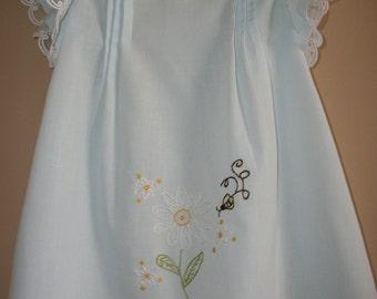 Custom design handmade Toddler dress-READY TO SHIP