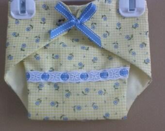 Handmade Baby Girl Diaper Cover-READY TO SHIP