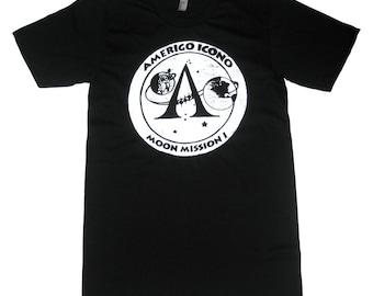 AMERIGO ICONO MOON Mission T shirt